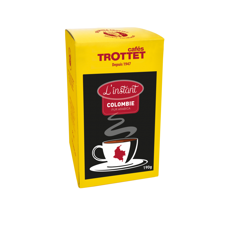 Colombia Instant Coffee 100% Arabica 150G Cafés Trottet