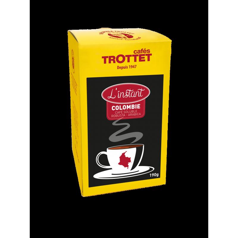 Kolumbien Löslicher Kaffee 150G Cafés Trottet