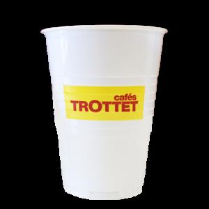 Gobelet Cafés Trottet 18cl
