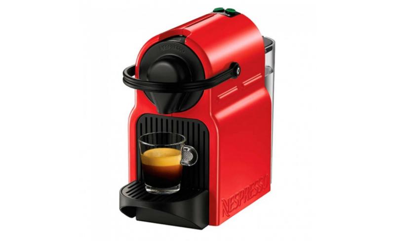 krups nespresso inissia rouge avec 200 capsules. Black Bedroom Furniture Sets. Home Design Ideas