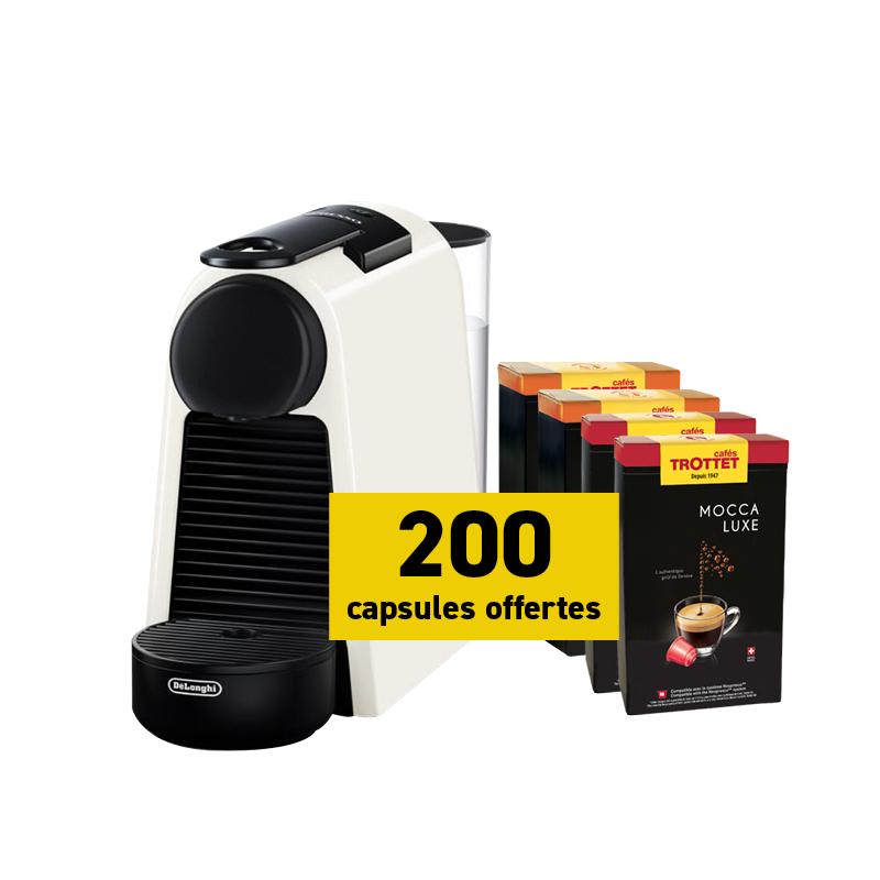 Delonghi Nespresso Essenza Mini et 200 capsules