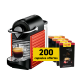 Delonghi Nespresso Pixie + 200 capsules free
