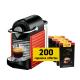 Delonghi Nespresso Pixie Rouge et 200 capsules