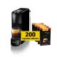 Krups Nespresso®* Essenza Noire et 200 capsules