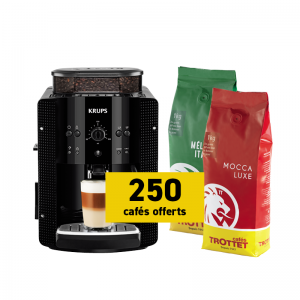 Krups Espresso EA8108 et 2 kg offerts