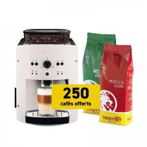 Krups Espresso EA8105 et 2 kg offerts