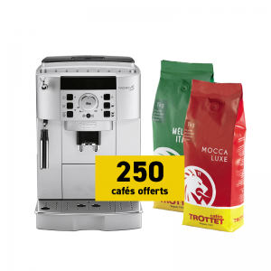 Delonghi ECAM 22.110.SB and 2 kg free