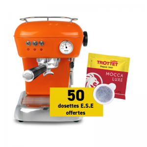 Ascaso Dream Versatile Orange et 50 dosettes