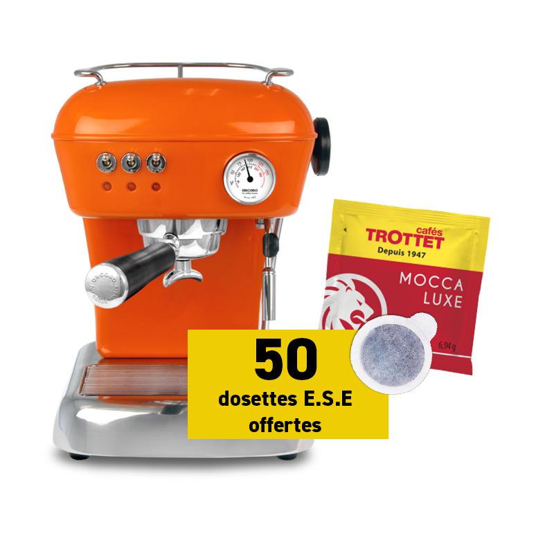 Ascaso Dream Versatile Orange et 50 dosettes