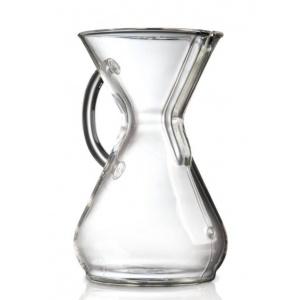 Chemex Cafetieres En Verre Avec Poignée 6 Tasses