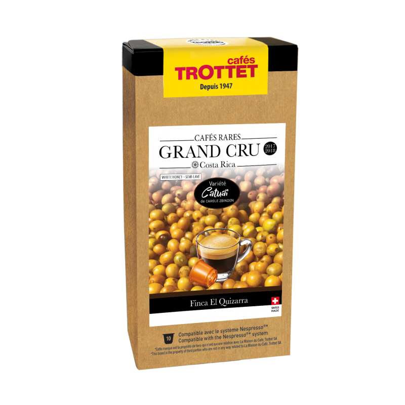 Cafés Trottet Grand Cru Costa Rica Catuai White Honey 10S