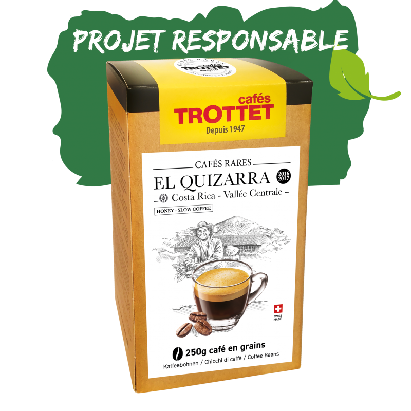 Cafés Trottet Costa Rica Quizarra Honey 250G