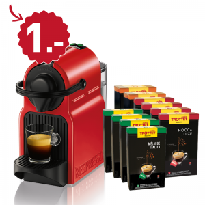 Krups Nespresso Inissia Rouge XN1005