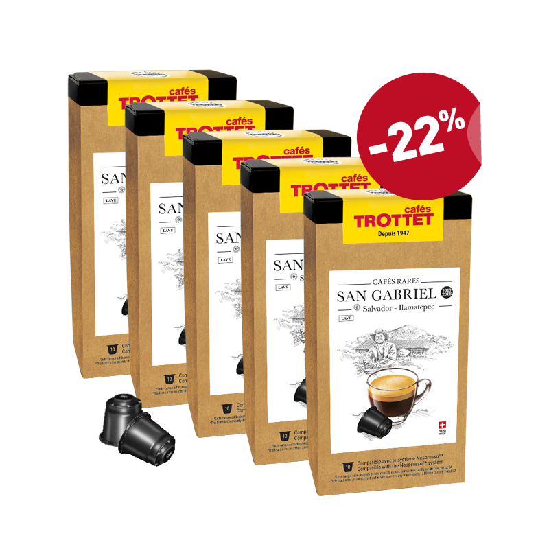 Salvador San Gabriel 5x10 capsules compatibles Pack