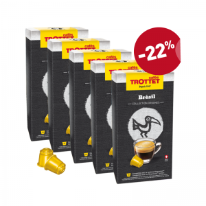 50 Nespresso®* compatibles capsules Brazil PACK