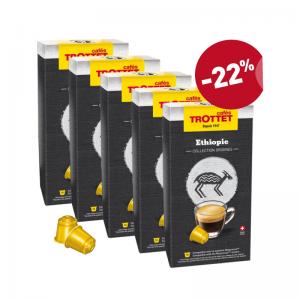 Pack 50 capsules Ethiopie Nespresso®* compatibles