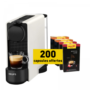 Krups Nespresso®* Essenza Plus + 200 Kapseln