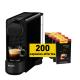 Krups Essenza Plus Black + 200 capsules