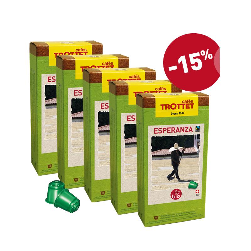Esperanza Bio 10 capsules x 5 Pack