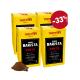 Café en Grains Barista FORTE 4x250G Pack