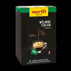 Capsules Melange Italien Espresso 50S