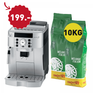 10KG bought, Delonghi 22.110.SB to 199.-