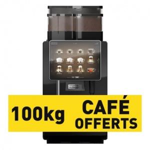 Franke A800 FM de démo et 100KG de café offerts