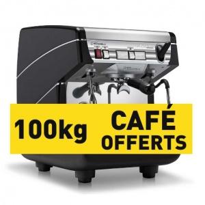Appia II - 1GR - Noir et 100KG de café offerts