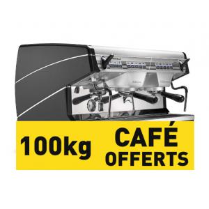 Appia II Compacte Inox 2gr noire  et 100KG offerts