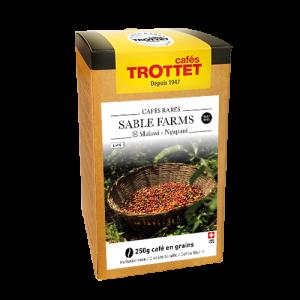 Kaffeebohnen Sable Farms gewaschen 250G Cafés Trottet