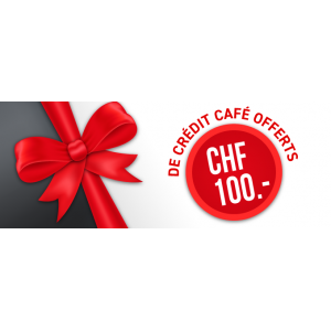 Credit Chf 100.- Cafe Black Friday