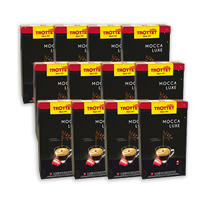 1'000 capsules compatibles Mocca Luxe Pack