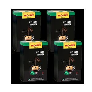 200 capsules Nespresso®* compatibles Mél.it Pack