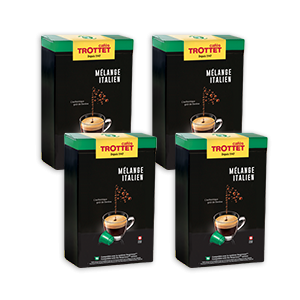 200 kompatible Kapseln Nespresso®* Italian Pack