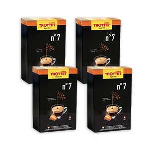 200 capsules Nespresso®* compatibles N°7 Pack