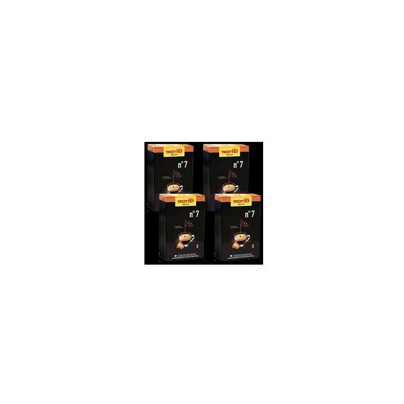 200 kompatible Kapseln Nespresso®* N°7 Pack