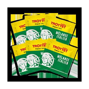 200 Dosettes ESE 44mm Mélange Italien Pack