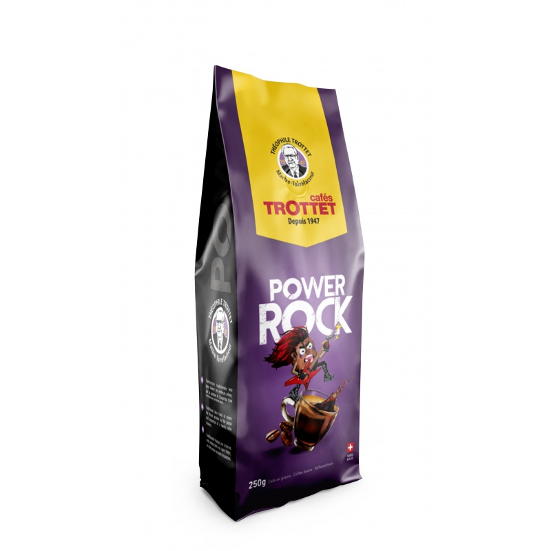 Cafés Trottet Powerock 250G Grains