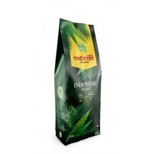 Indonesien Bio Orgaanik Kaffeebohnen 250G Cafés Trottet