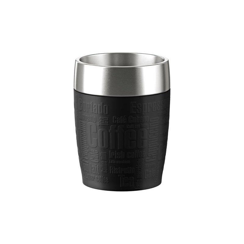 Emsa Gobelet Isotherme Travel Cup 0.2L Black