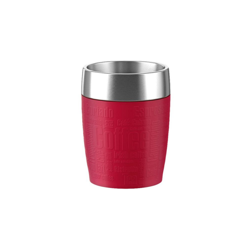 Emsa Gobelet Isotherme Travel Cup 0.2L Red