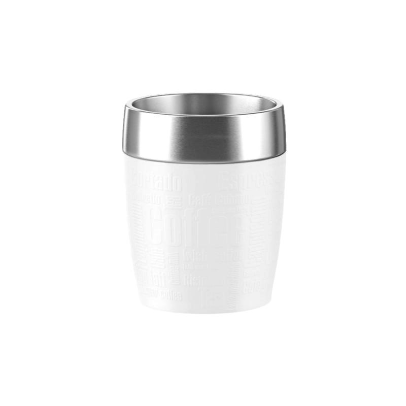 EMSA Travel Cup Isobecher 0.2L White