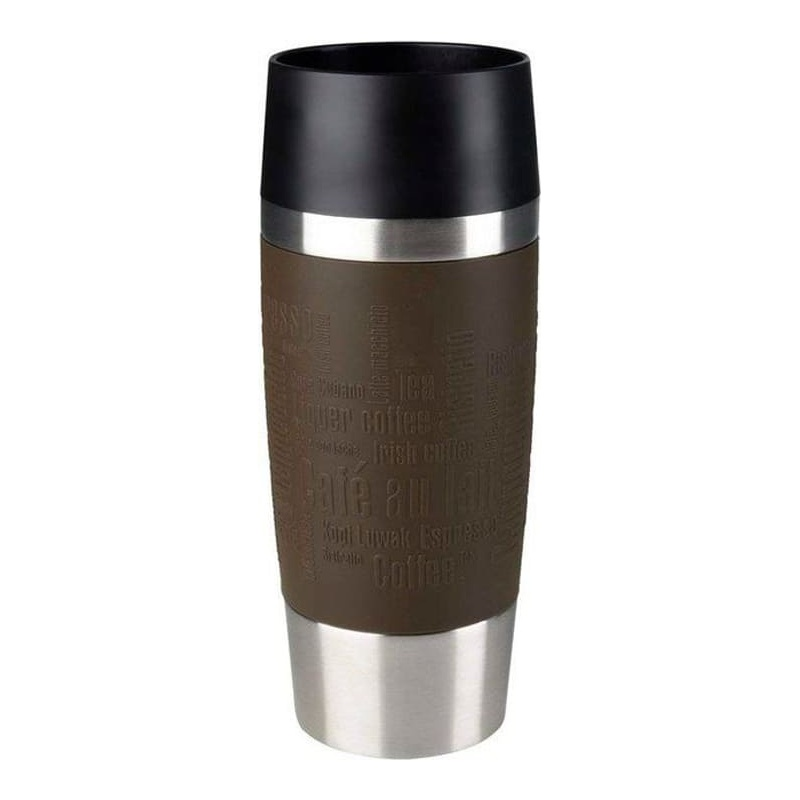 EMSA Travel Mug Isotherm 0.36l Braun