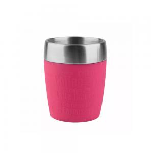 EMSA Gobelet Isotherme Travel Cup 0.2L Framboise