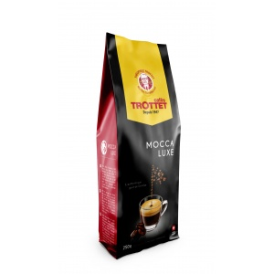 Coffeebeans Mocca Luxe 250G Cafés Trottet