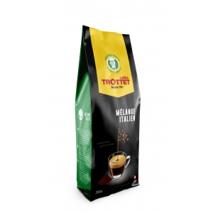 Italian Blend Ground Coffee 250G Cafés Trottet