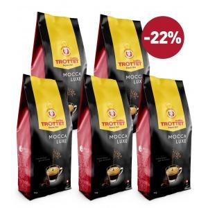 Kaffeebohnen Mocca luxe 5KG Pack