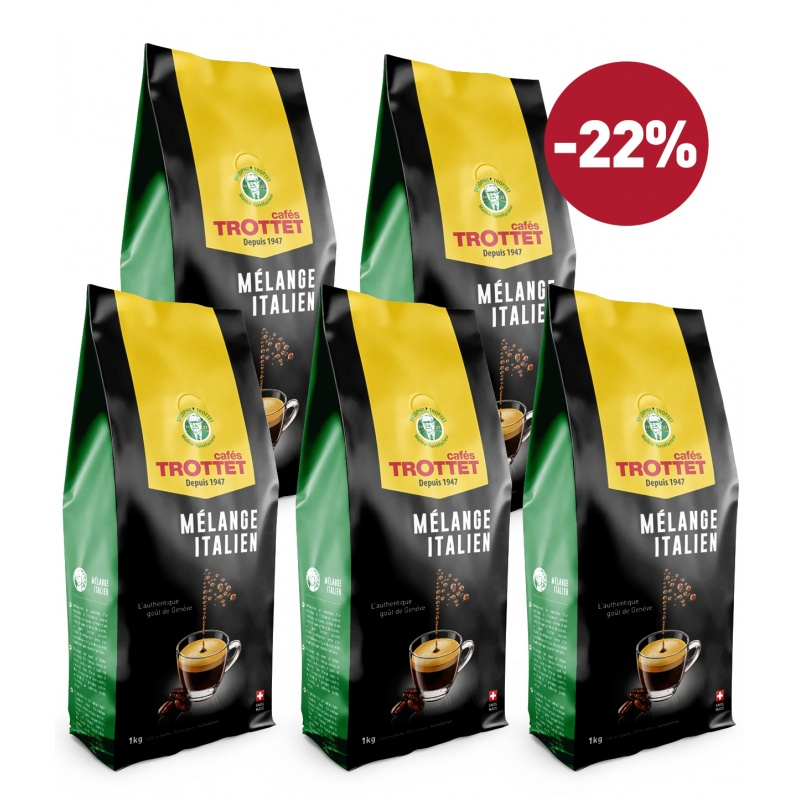 Coffeebeans Italian Blend 5KG Pack