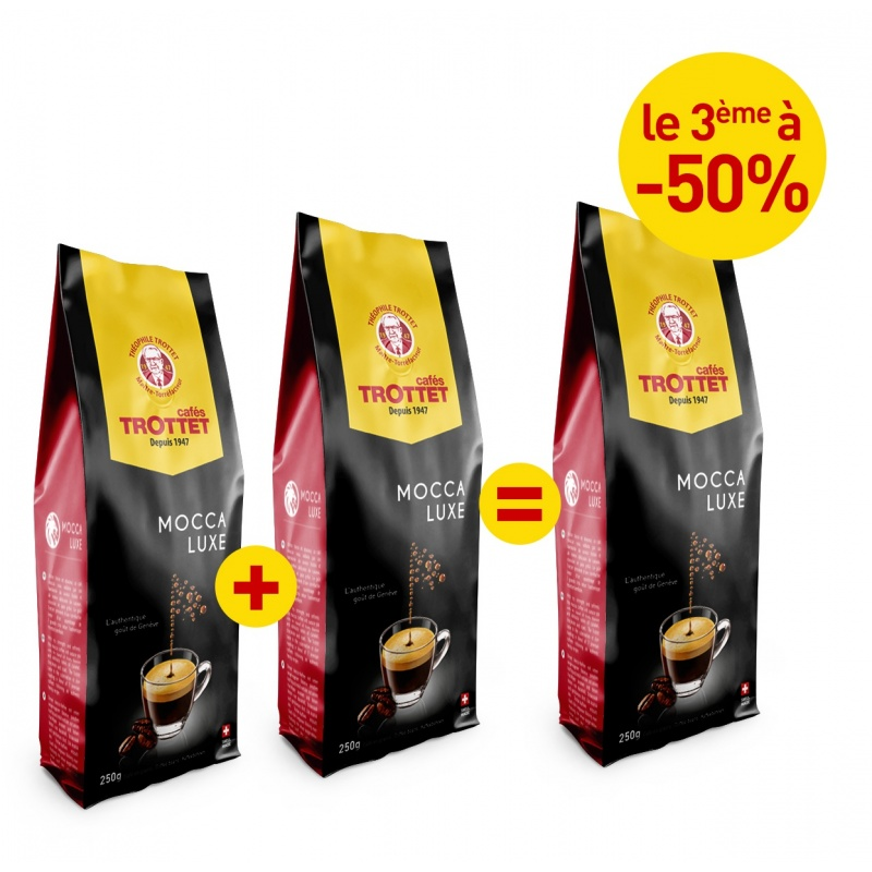 2x250G Mocca Luxe bought, 3rd to 50%