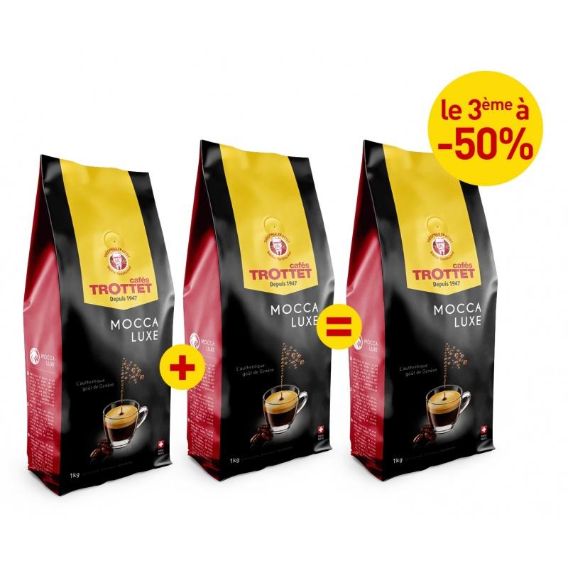 2 KG Mocca Luxe gekauft, 3. bis 50%